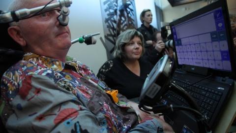 Komunikace pomoci Tobii PC Eye, www.spektra.eu